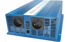 Carspa SK2000 24V/230V 2000W USB / DO, čistá sínusovka