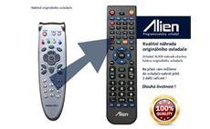 Dálkový ovladač ALIEN Homecast S 3000 CR, CICR, CI, FTA - náhrada