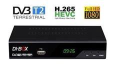 DI-BOX DVB-T2 V3 HEVC H.265 - ROZBALENÝ KUS