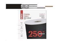 Koaxiální kabel Emos CB113UV / 250m / 6,8 mm venkovní