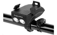 KRUGER & MATZ XT50 Držák telefonu na kolo 4v1 se svítilnou a powerbankou