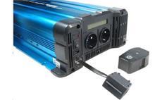Měnič napětí Solarvertech FS3000 24V/230V 3000W + USB, dálkové ovládání, čistá sinusovka