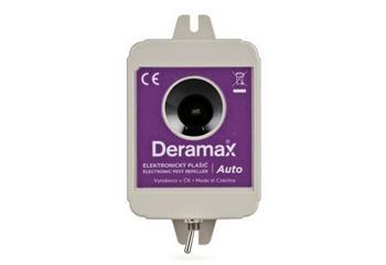Odpuzovač Deramax Auto - ultrazvukový plašič kun a hlodavců