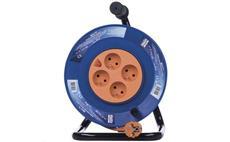Prodlužovací kabel na bubnu 25m / 3x1,5mm PVC / 4 zásuvky